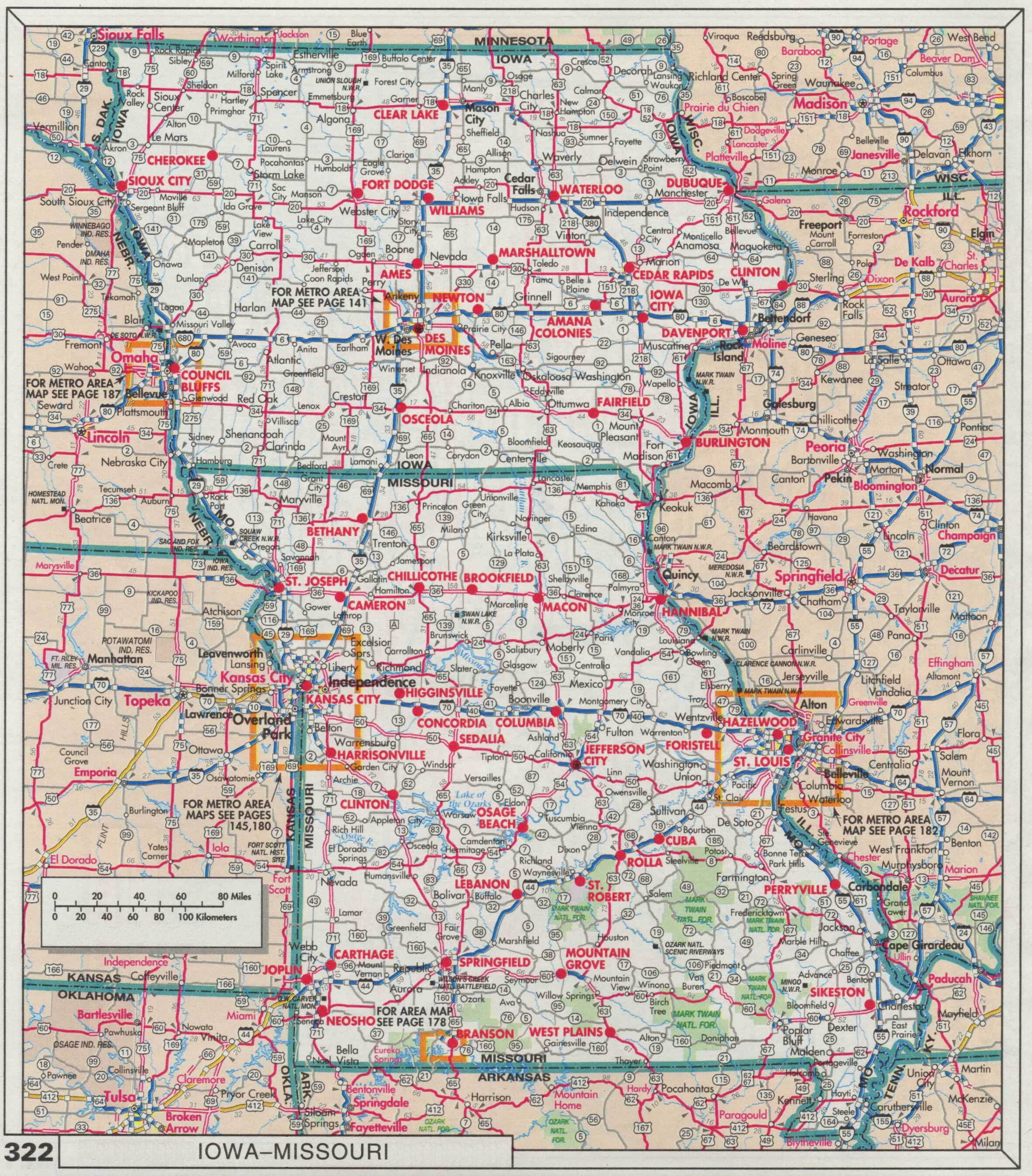iowa and missouri back to the roadmap index. the web shell